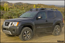 In Pictures: Nissan Xterra