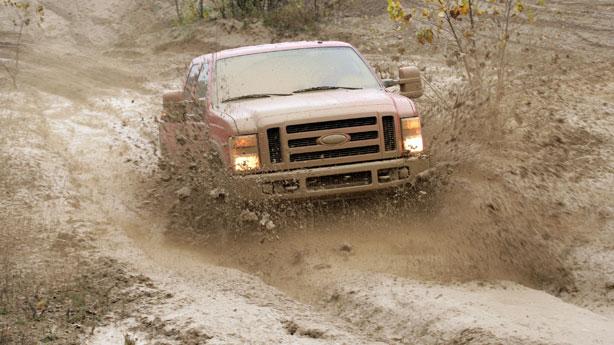 Ford F-series mud