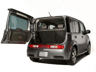 Nissan Cube open rear