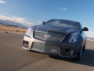 Gallery: 2011 Cadillac CTS-V Coupe