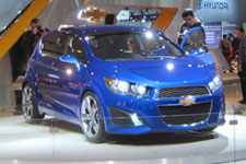 In Pictures: Chevy Aveo RS Concept