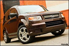 In Pictures: Honda Element