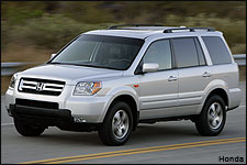 In Pictures: Honda Pilot