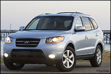 In Pictures: Hyundai Santa Fe