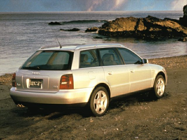 2000 Audi A4 1.8T Avant 4dr All-wheel Drive Quattro ...