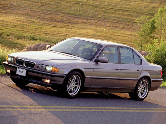 2000 BMW 740 Exterior Photo