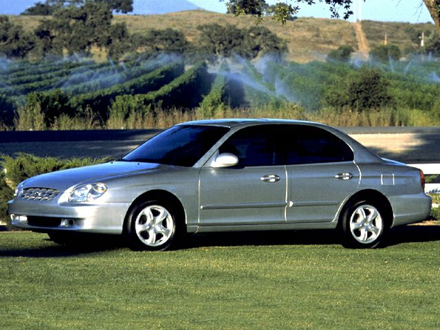 2000 Hyundai Sonata Exterior Photo