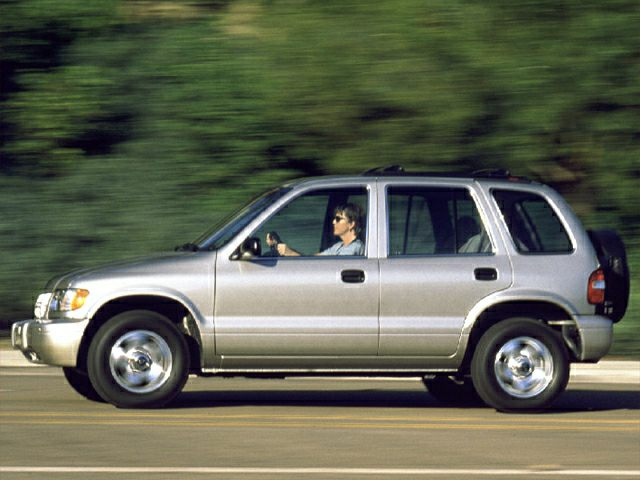 2000 Kia Sportage Exterior Photo