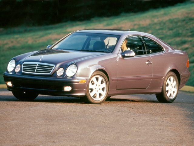 2000 Mercedes-Benz CLK-Class Exterior Photo