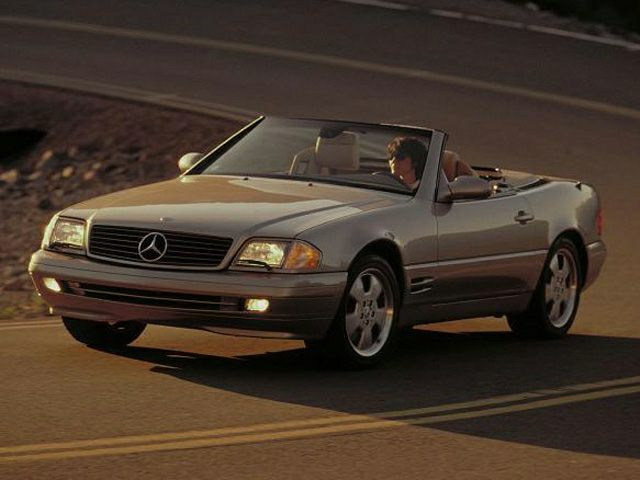 2000 Mercedes-Benz SL-Class Exterior Photo