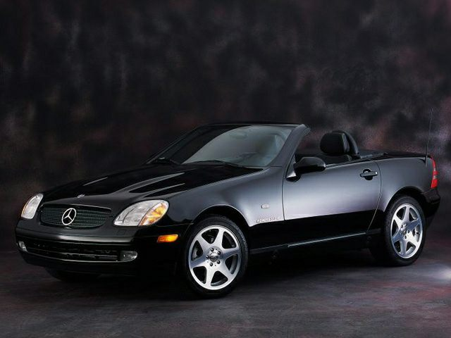 2000 Mercedes-Benz SLK-Class Exterior Photo