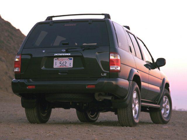 2000 Nissan Pathfinder Exterior Photo