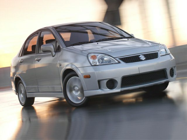 2007 Suzuki Aerio Exterior Photo