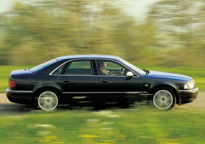 2001 Audi S8 Exterior Photo