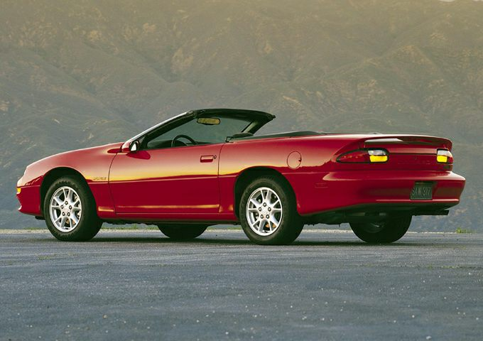 2001 Chevrolet Camaro Exterior Photo