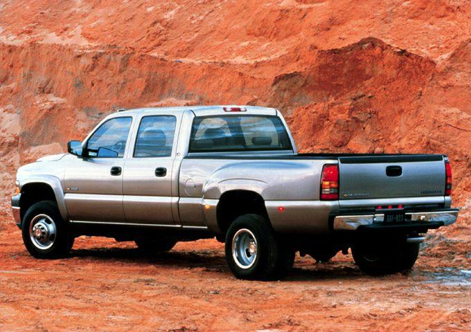 2002 Chevrolet Silverado 3500 Exterior Photo
