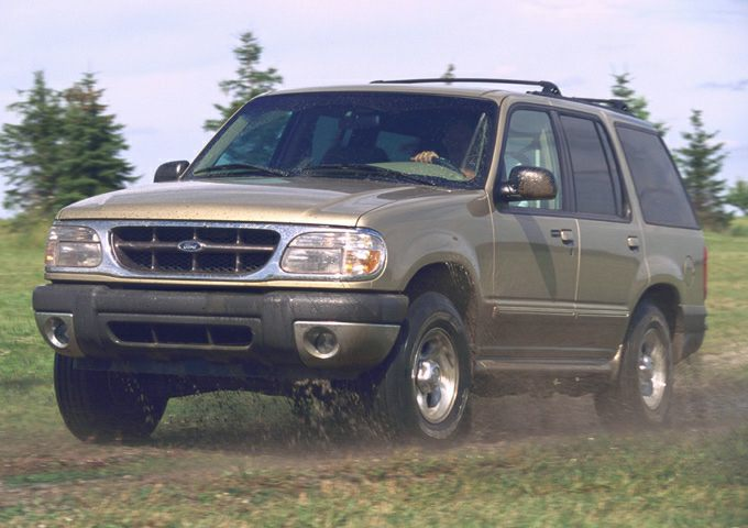 2001 Ford Explorer Exterior Photo