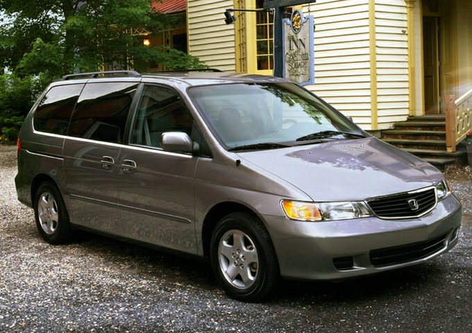 2001 Honda Odyssey Pictures