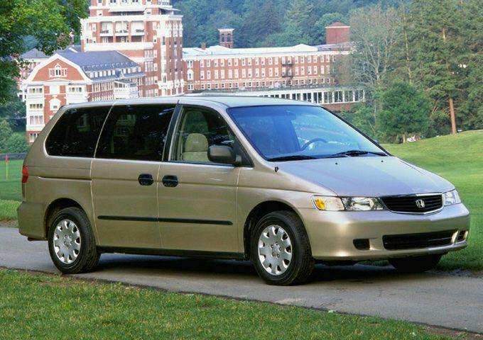 2001 Honda Odyssey Lx Passenger Van Pictures