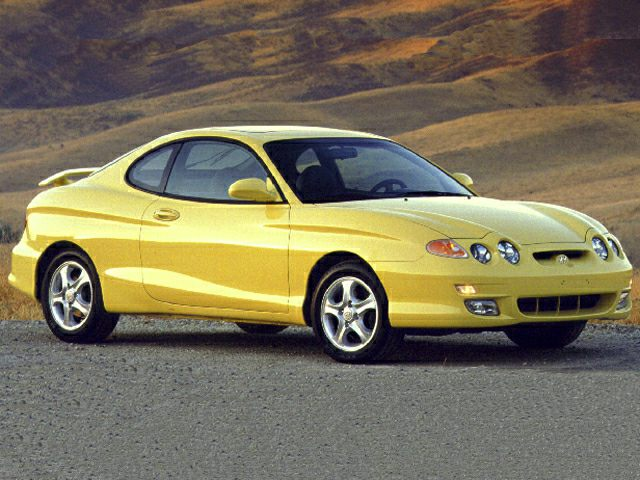 2001 Hyundai Tiburon Exterior Photo