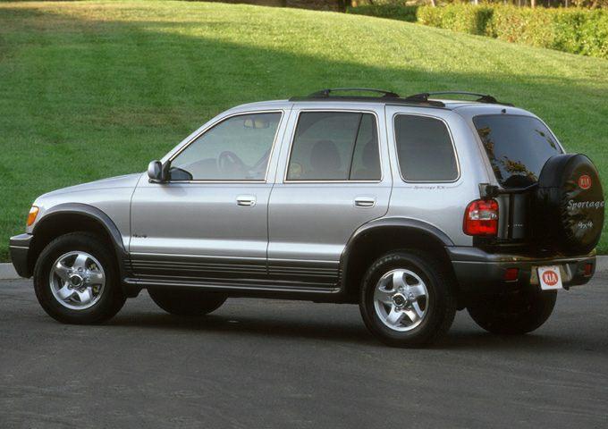 2001 Kia Sportage Exterior Photo