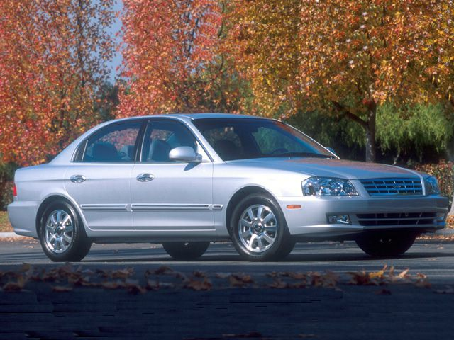2001 Kia Optima Exterior Photo