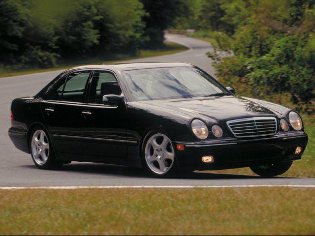 2001 Mercedes-Benz E-Class Exterior Photo