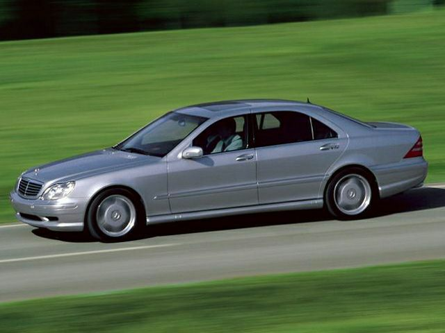 2001 Mercedes-Benz S-Class Exterior Photo