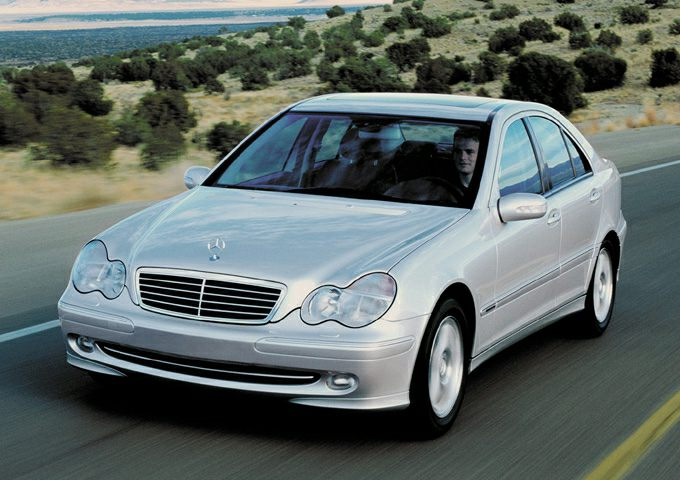 2001 Mercedes-Benz C-Class Exterior Photo