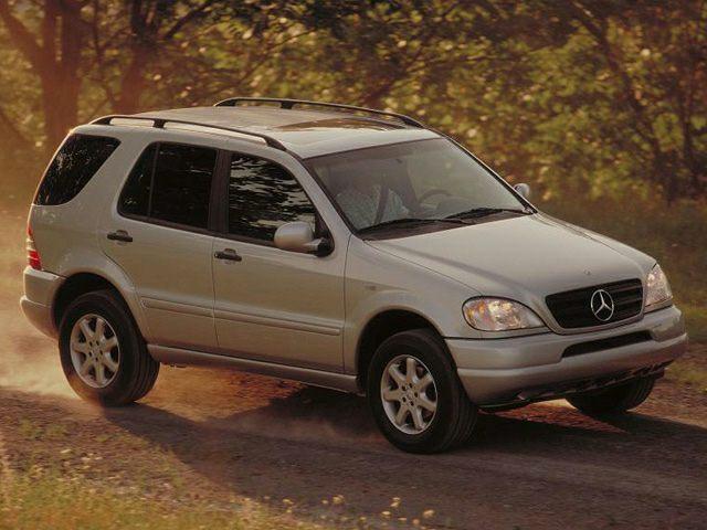 2001 Mercedes-Benz M-Class Exterior Photo