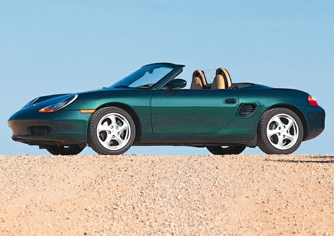 2001 Porsche Boxster Exterior Photo