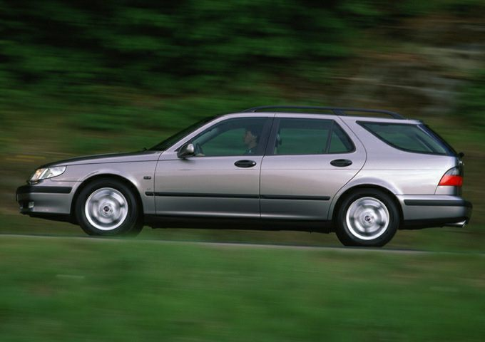 2001 Saab 9-5 Exterior Photo