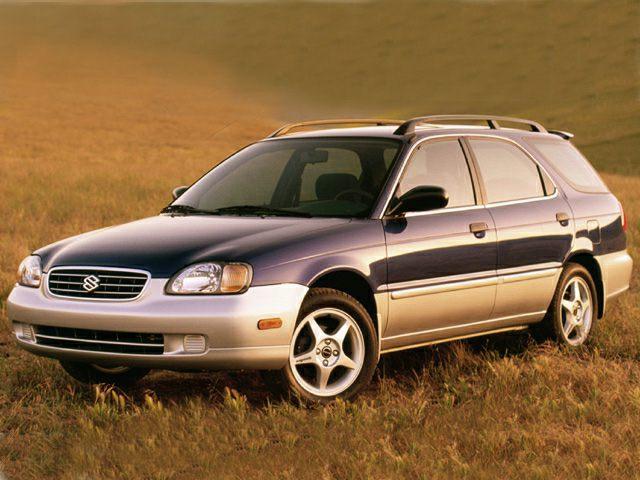 2001 Suzuki Esteem Exterior Photo