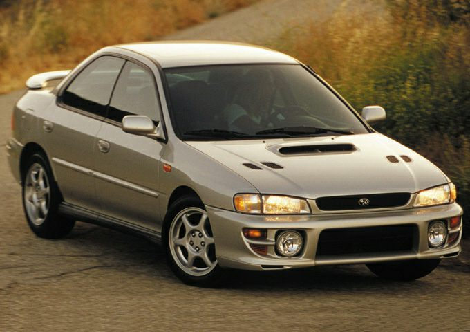2001 subaru impreza 2 5rs 4dr all wheel drive sedan. Black Bedroom Furniture Sets. Home Design Ideas