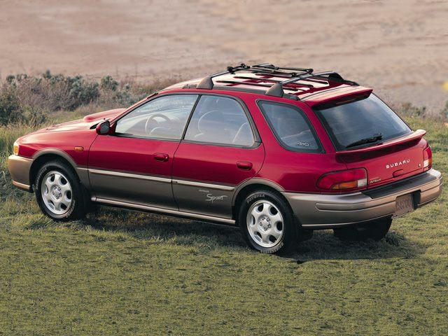 2001 Subaru Impreza Outback Sport Exterior Photo