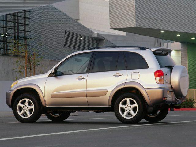 2001 Toyota RAV4 Exterior Photo