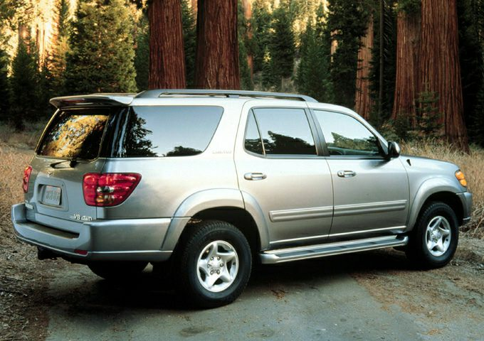 2001 Toyota Sequoia Exterior Photo