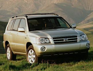 2001 Toyota Highlander Exterior Photo