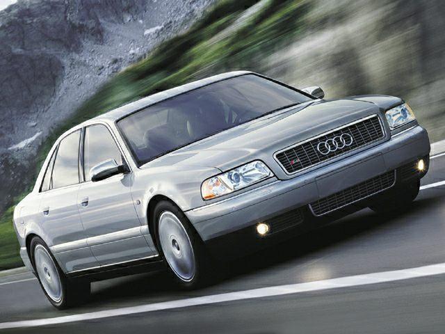 2002 Audi S8 Exterior Photo