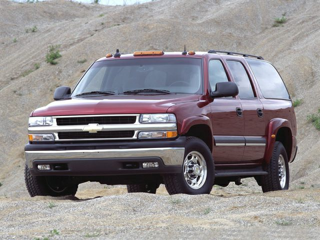 2002 Suburban 2500
