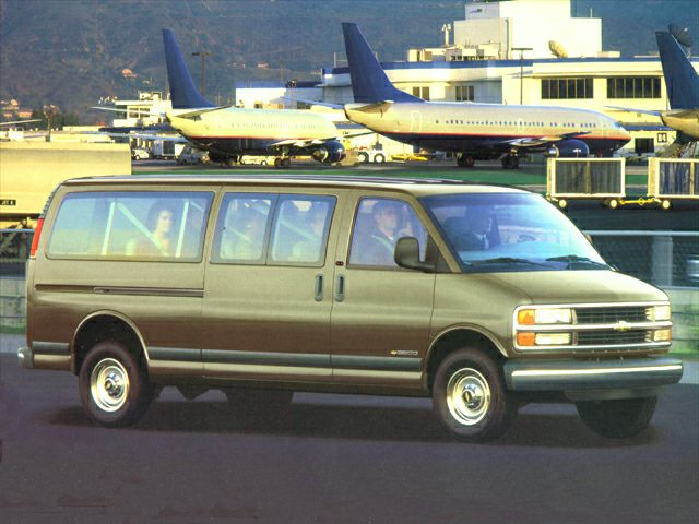 2002 Chevrolet Express Exterior Photo