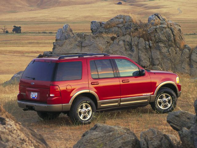 2002 Ford Explorer Exterior Photo