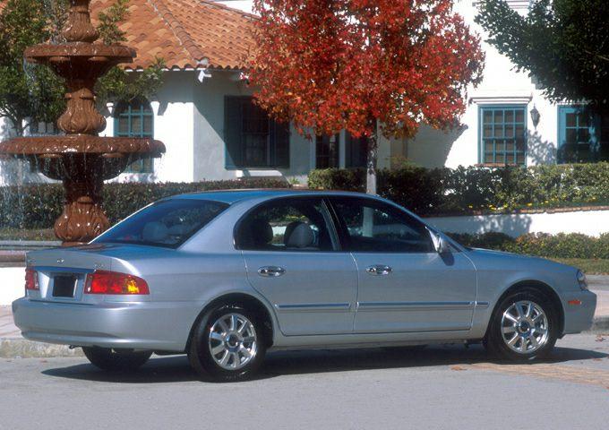 2002 Kia Optima Exterior Photo