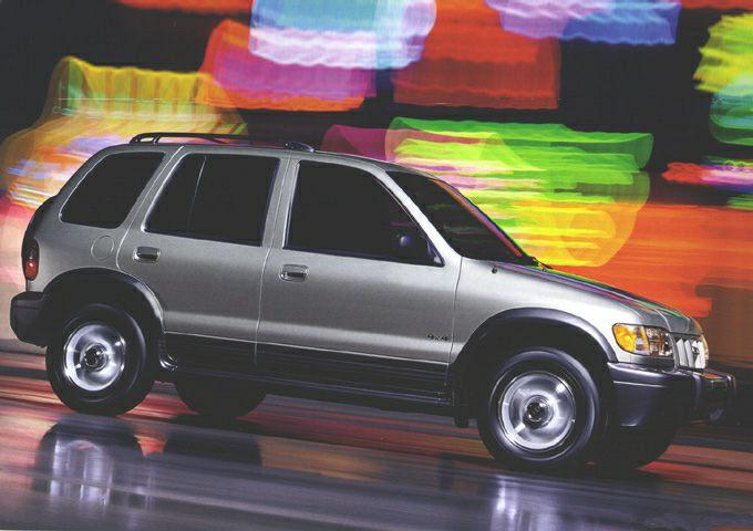 2002 Kia Sportage Exterior Photo