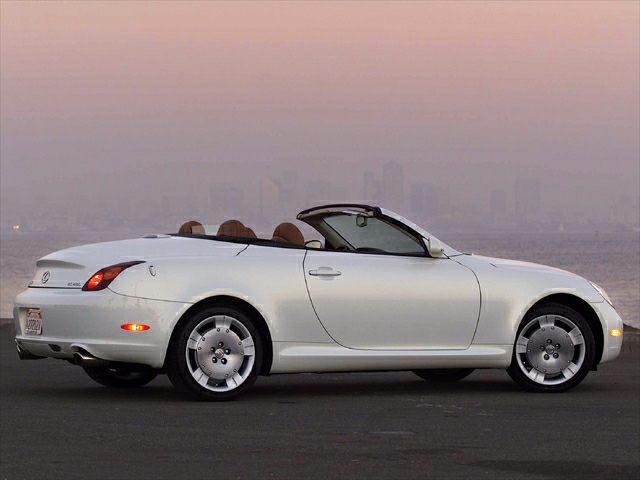 2002 Lexus Sc 430 Information