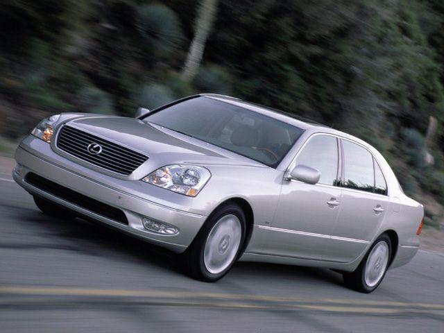 2002 Lexus LS 430 Exterior Photo