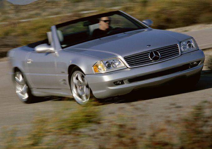 2002 Mercedes-Benz SL-Class Exterior Photo