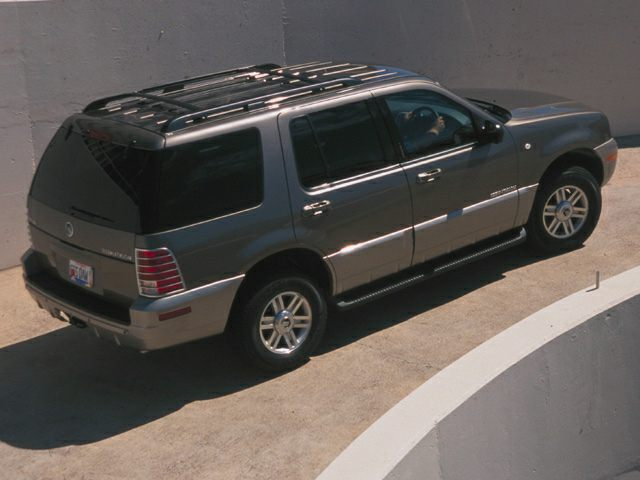2002 Mercury Mountaineer Exterior Photo