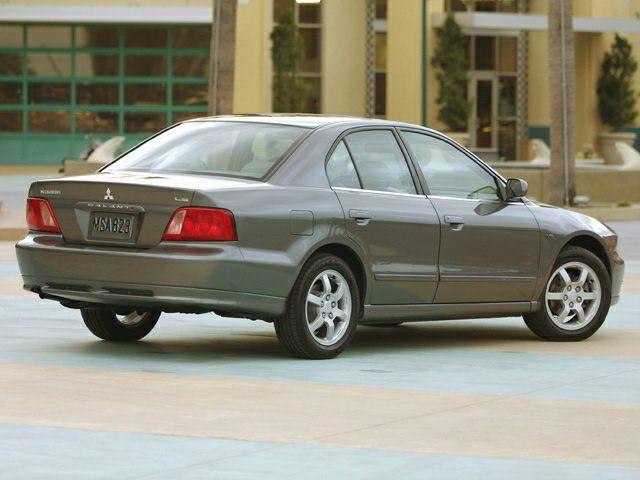 2002 Mitsubishi Galant Exterior Photo