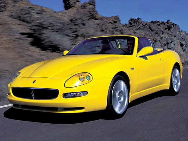 2002 Maserati Spyder Exterior Photo